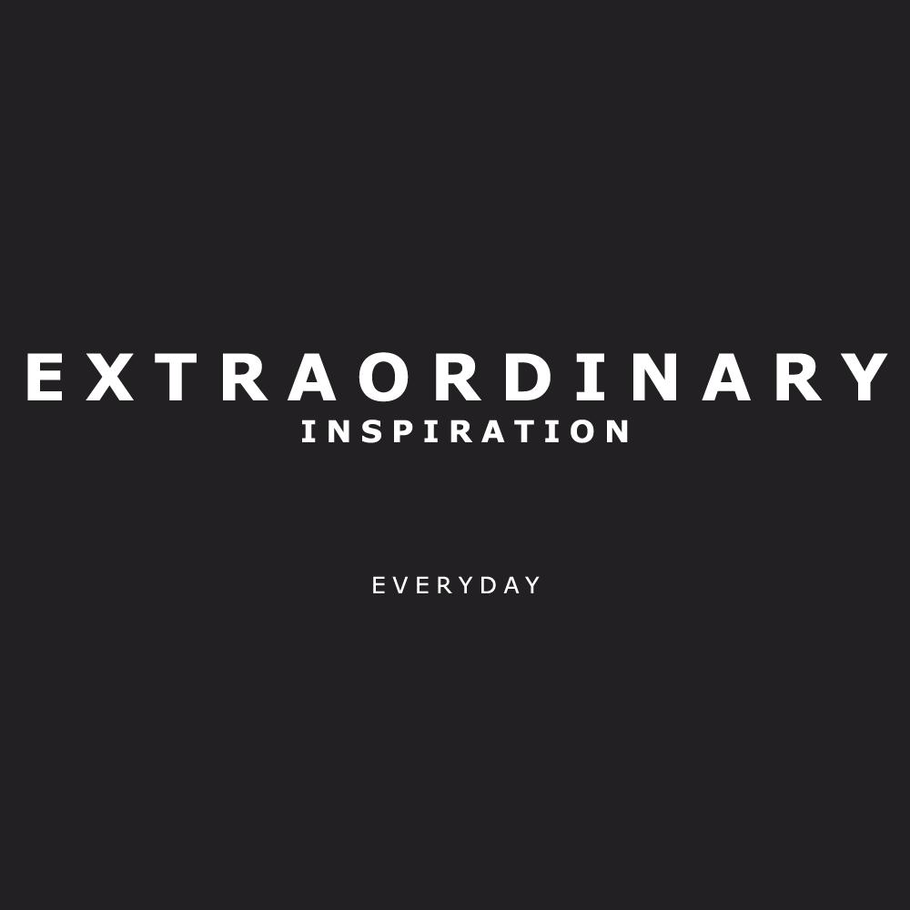 Extraordinary Inspiration